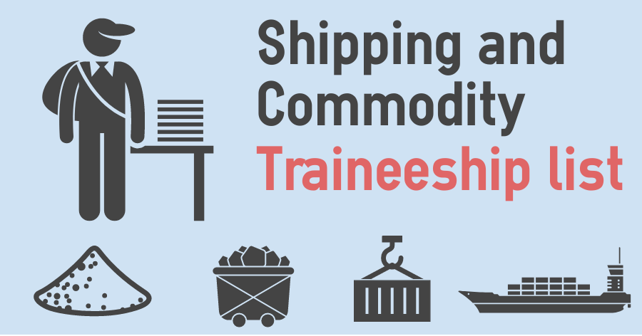 Shipping and Commodity Traineeship