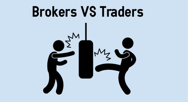 The difference between a trader and a broker