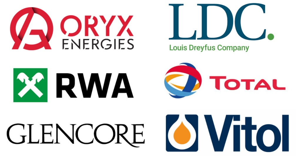 logos of commodity trading company