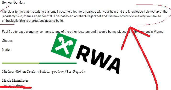 RWA testimonial