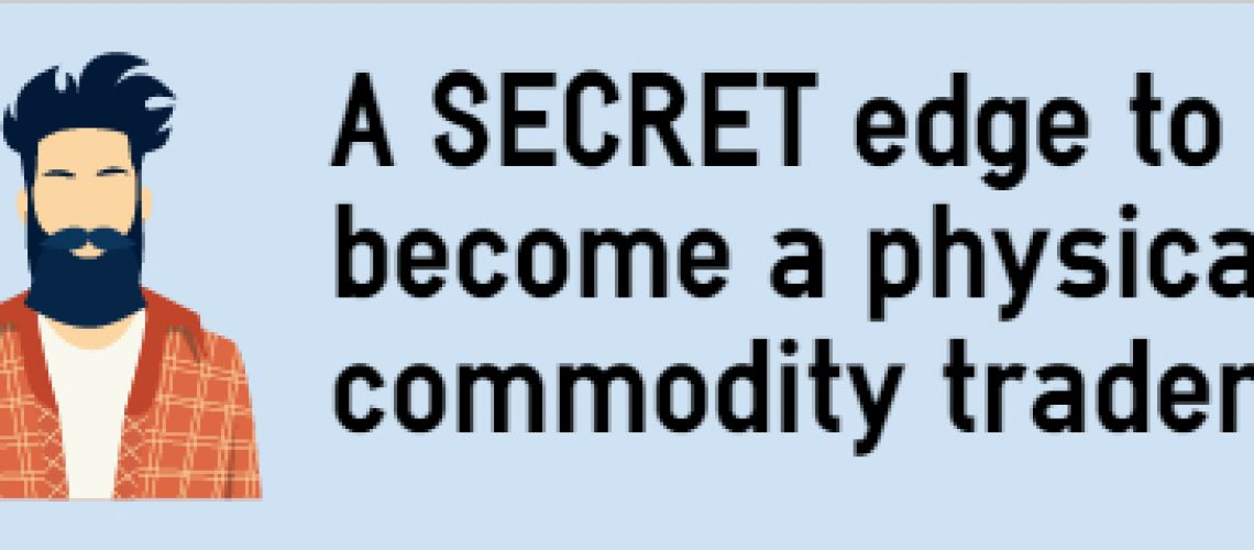 be a commodity trader